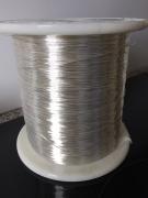 Провод монокристаллическая медь 99,99995%, посеребренный (7N OCC Single Crystal Copper Wire,Silver Plated ), диаметр 0,6 мм