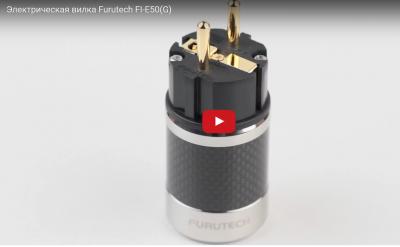 Разъем EU Schuko Furutech FI-E50(G) Carbon