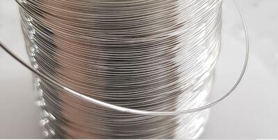 Провод монокристаллическое серебро 99,9999%, (6N OCC  Single Crystal Silver Wire ), диаметр 1,00 мм
