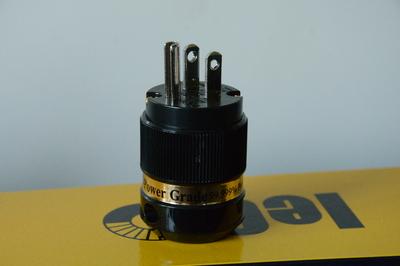 Сетевая вилка US 3-Pin iEgo Power, Ti2000(M) 8095BK-Ag