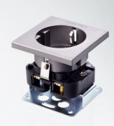 Розетка силовая 2К+З Furutech FT-SDS (R)